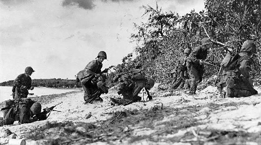 U.S. Marines Landing on Saipan, June 1944